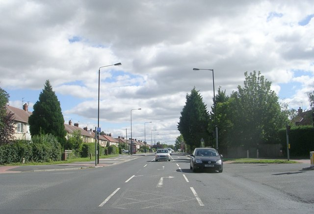 Hull Road - viewed from Lilac Avenue