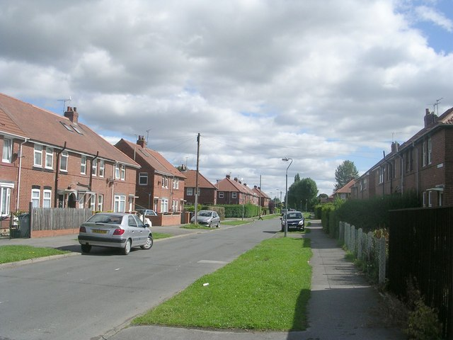 Hadrian Avenue - Tang Hall Lane