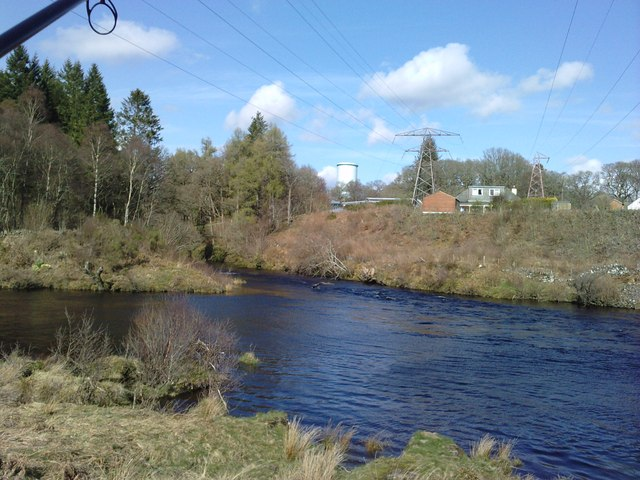 Water of Ken and Kendoon village with surge tank