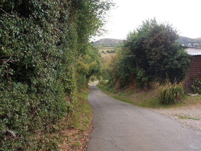 Drive at Bank Farm, West Malvern