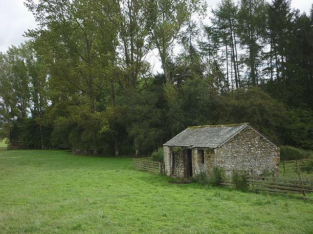 Barn below Prickly Bank Wood