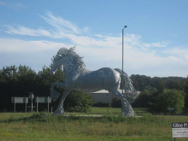The Cob sculpture, Belvedere