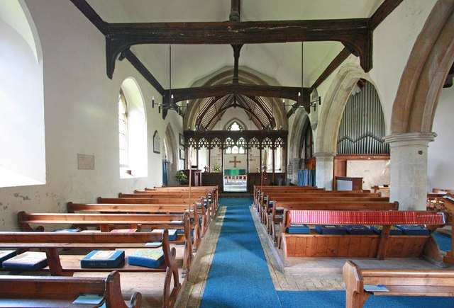 St Mary, Manuden - East end