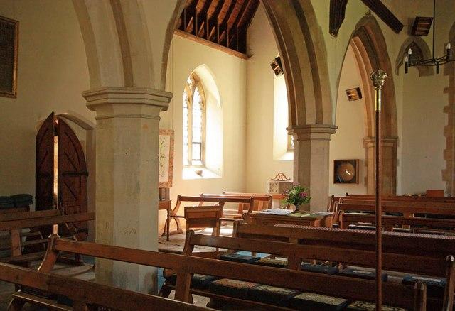 St Mary, Manuden - Interior