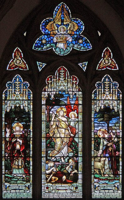 St Mary, Manuden - Stained glass window