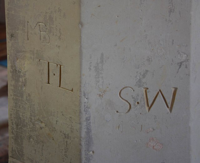 St Mary, Manuden - Graffiti