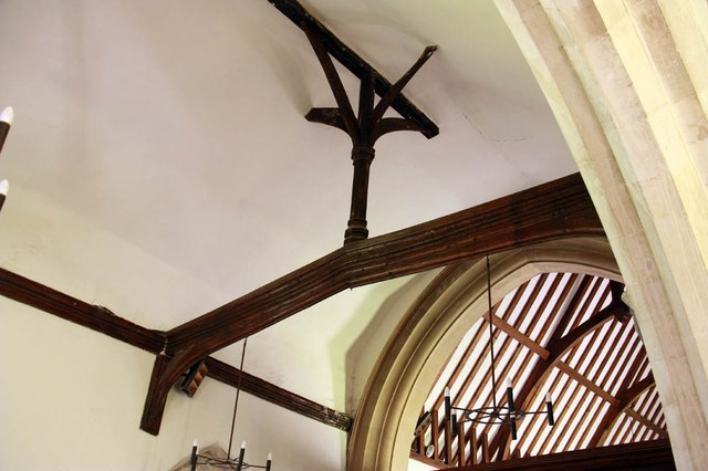 St Mary, Manuden - Roof