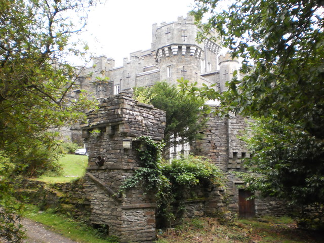Another view of Wray Castle