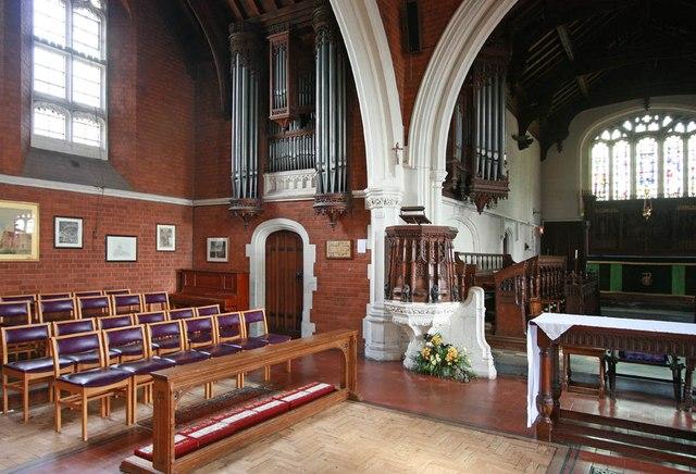 St John, Stansted Mountfitchet - Organ