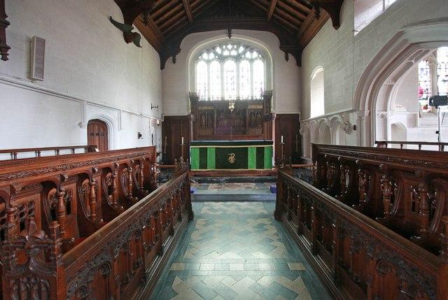 St John, Stansted Mountfitchet - Chancel