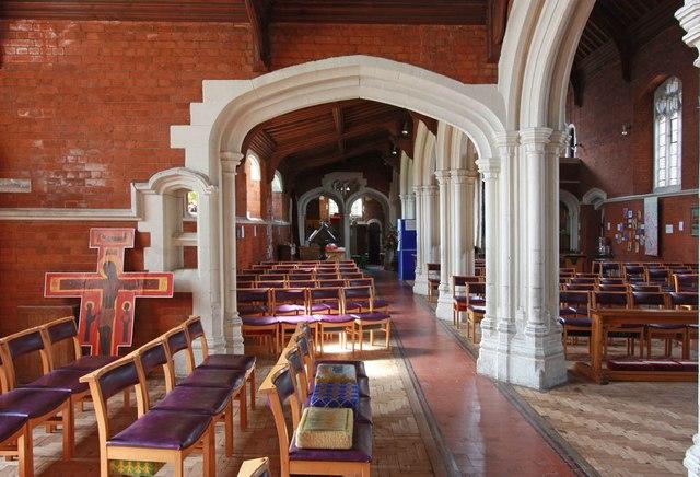 St John, Stansted Mountfitchet - South aisle