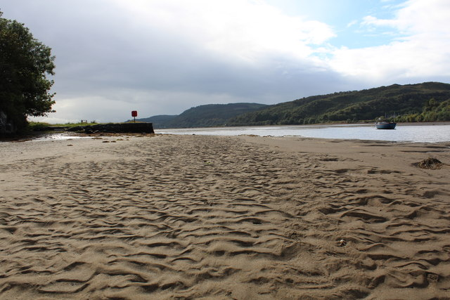 Sands at Crinan Ferry