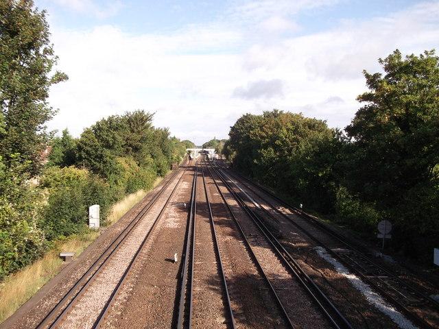 Railway to Petts Wood