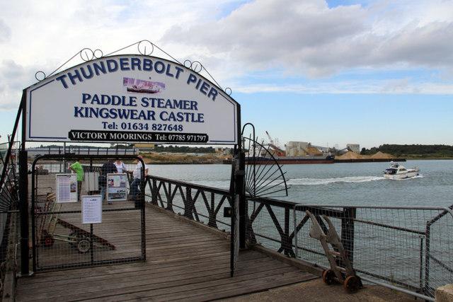 Thunderbolt Pier, Chatham Historic Dockyard, Kent