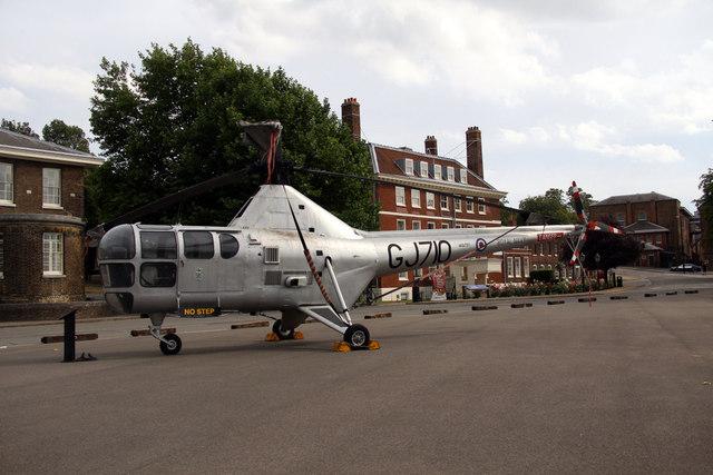GJ710 Helicopter, Chatham Historic Dockyard, Kent