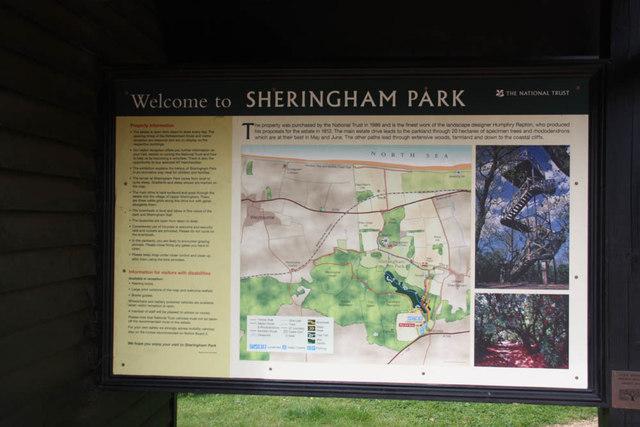 Sheringham Park - Notice of walks