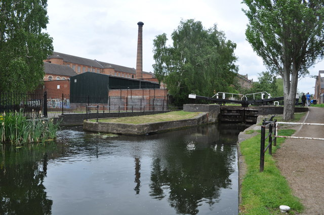 Erewash Canal and Textile Mill