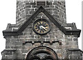 SJ8663 : St John's Church, Buglawton- Southern clockface by Jonathan Kington