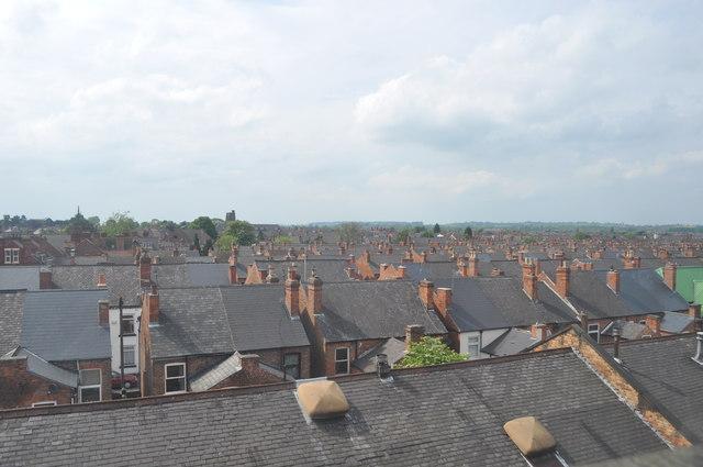 Rooftops at Long Eaton