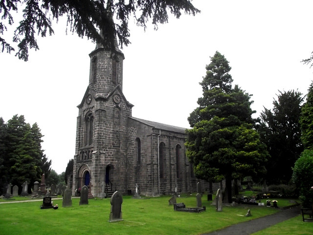 St John's Church, Buglawton- South and East elevations
