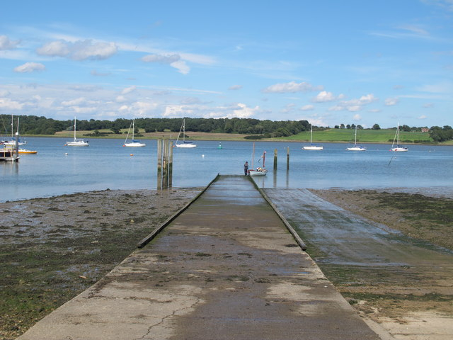 Royal Harwich Yacht Club Slipway