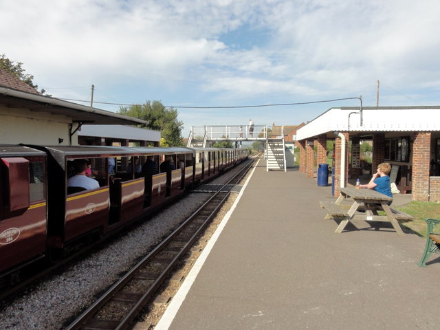 RH&DR Dymchurch Railway Station