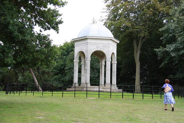 Sheringham Park - Temple