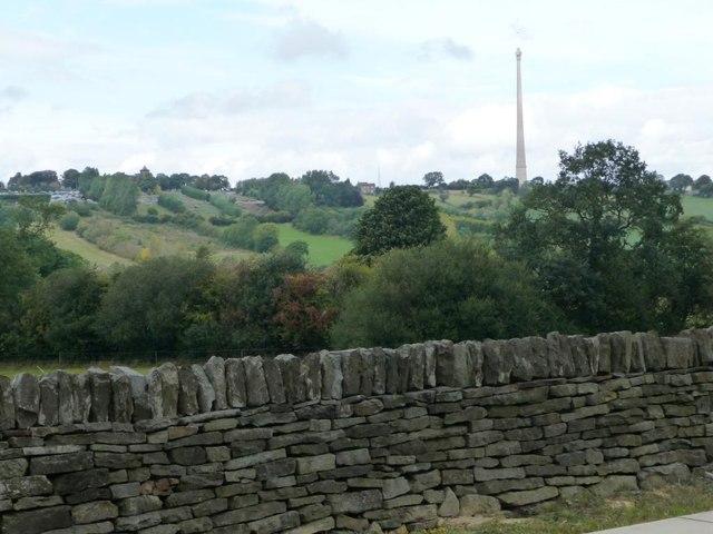 Drystone wall, Shelley Station
