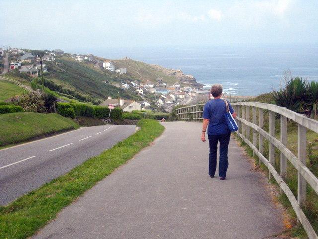 Cove Road Sennen