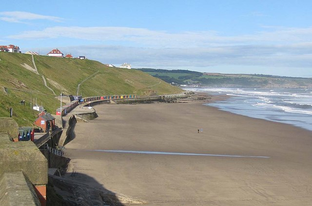 Whitby Sands, August Bank Holiday