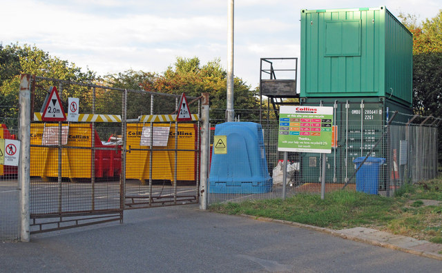 Peninsula Community Recycling Centre, Chelmondiston