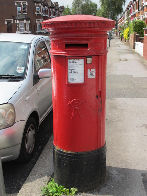 Victorian postbox, Mora Road, NW2