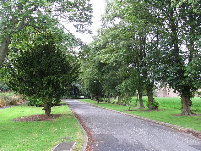 Driveway to St Michael's Hospital