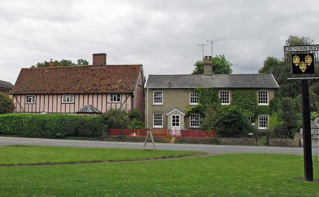 Bridge House and neighbour