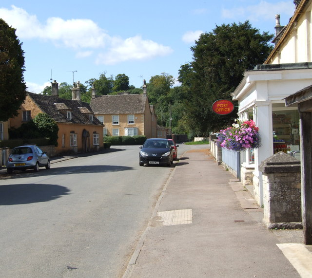 The west end of High Street, Badminton