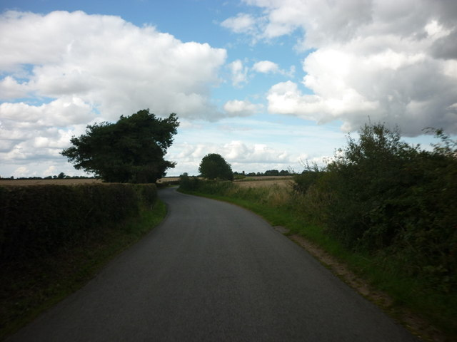 Lowmoor Lane, north of Thornton