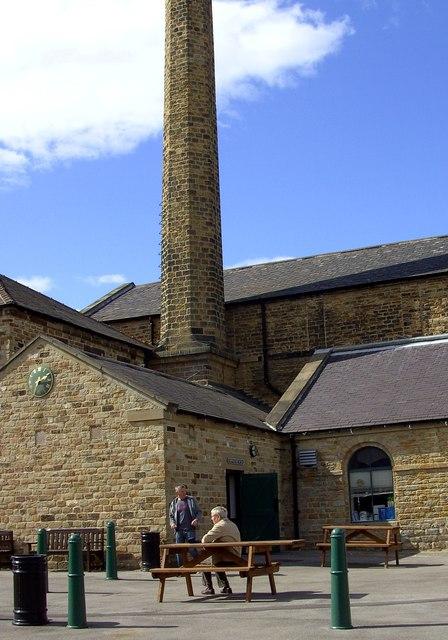 Ex foundry chimney