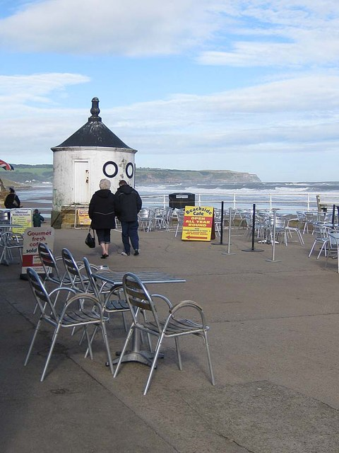 Beachside cafe, Whitby