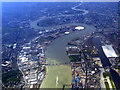 TQ4279 : The Thames Barrier from the air by Thomas Nugent