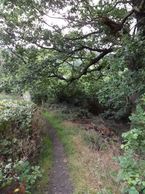 Footpath, Wheat Royd, Almondbury.