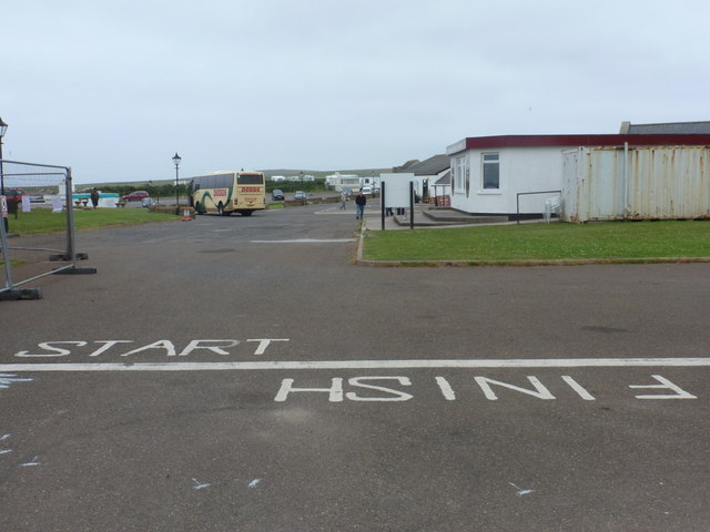 John o' Groats: start/finish line