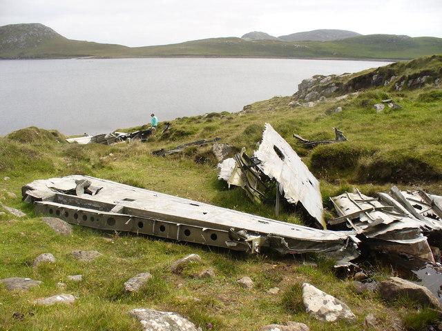 Catalina Wreckage, Vatersay