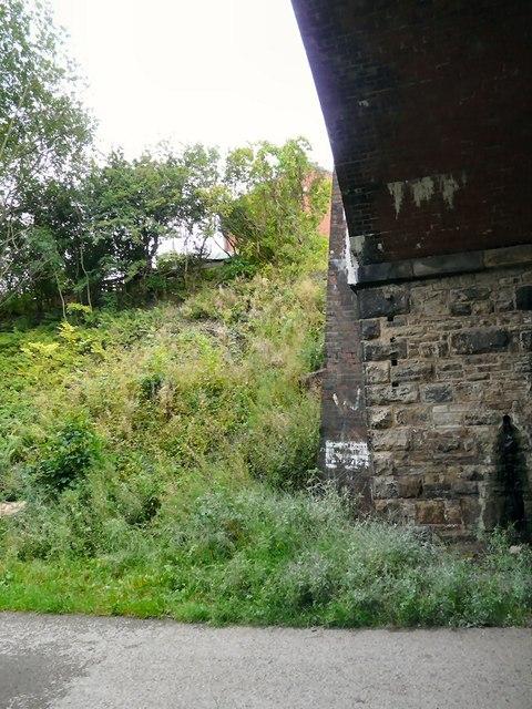 Side of Dowson Road bridge