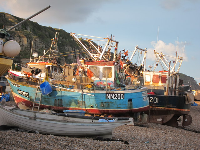 Fishing boats at Fishermen's Stade