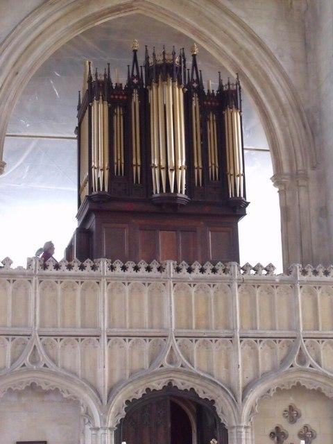 The Organ at Church of Holy Trinity, Tattershall
