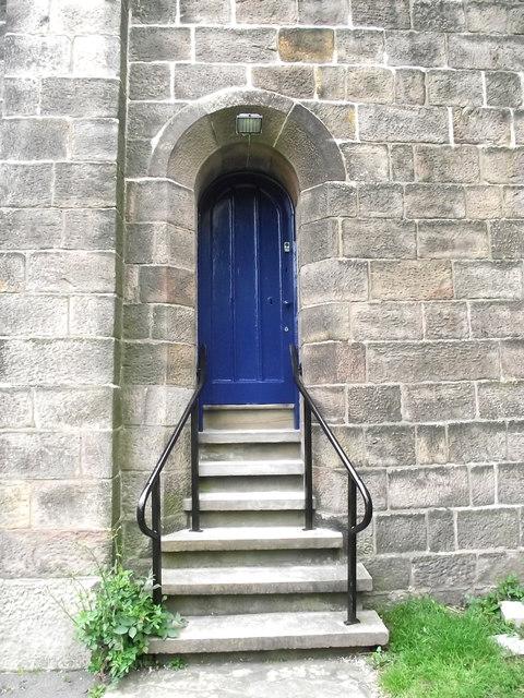 St John's Church, Buglawton- Tower door
