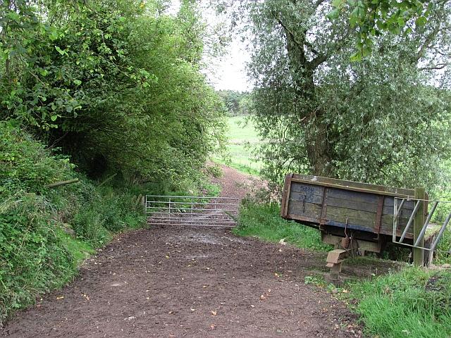 Farm track, Ballencrief Mains