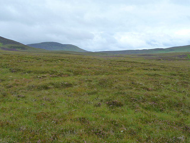 Moorland below Sgurr Mor