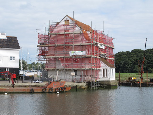 Repairs at the Tide Mill