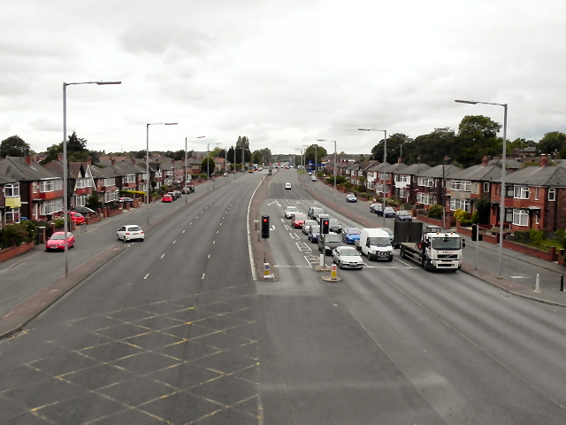 East Lancashire Road (A580), Swinton